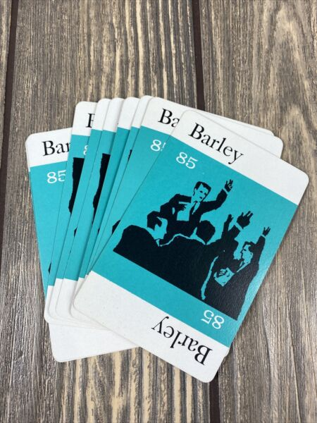 Parker Brothers Pit Game 1964 Replacement Piece Part 9 Barley Cards