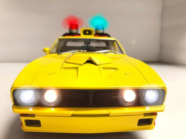 MFP Ford XB Falcon INTERCEPTOR 1974 MAD MAX First V8 1 18 WORKING Police LIGHTS