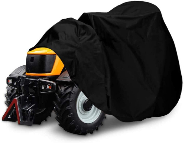 Heavy Duty 55in Long Outdoor Lawn Mower Tractor Cover All weather Protection $10.98