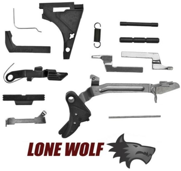 Lone Wolf LWD Parts Kit for Gen 3 Glock 17 22 Full Size P80 Trigger $63.29