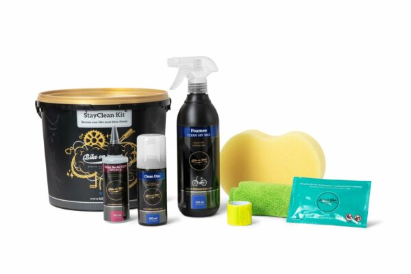 StayClean Kit Bike on Wax Complete Bicycle Cleaning Kit Ultimate Care $20.09