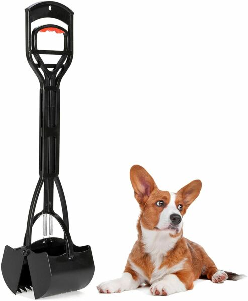 Jawz Dog Waste Scooper Dog Pooper Scooper for Easy Pick Up Black $38.18