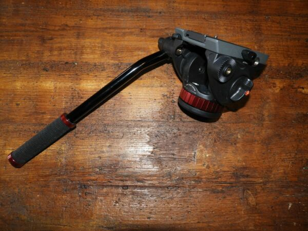 Manfrotto 502 Fluid Video Tripod Head MVH502AH Flat Base