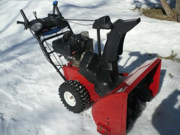 Toro Power Max 1028 LXE 28quot; Two Stage Gas Snow Blower With Electric Start