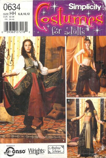 Simplicity 0634 Costumes For Adults