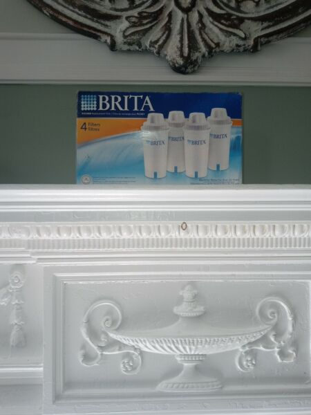 Brita Pitcher Water Replacement Filters 4 pack