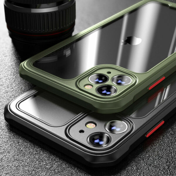 Shockproof Case for iPhone 12 11 Pro Max XR X XS 7 8 PLUS SE Bumper Clear Cover