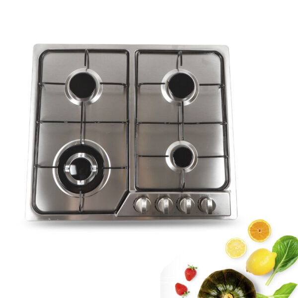 23quot; 4 Burner Built in Gas Cooktops Stainless Steel Natural Gas Stove Top US
