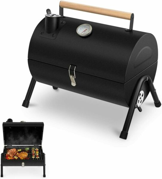 Charcoal Grill Portable BBQ Grill Barbecue Camping Grill for Outdoor Cooking