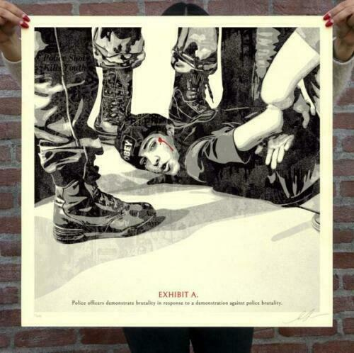 OBEY quot;The High Cost Of Free Speechquot; Print x 575 Signed Shepard Fairey Pre Order $130.00