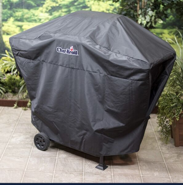 """Char Broil Performance 52"""" Black Grill Cover"""