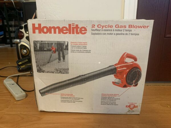 Homelite Gas Blower 150MPH 400CFM 2 Cycle Engine Blower