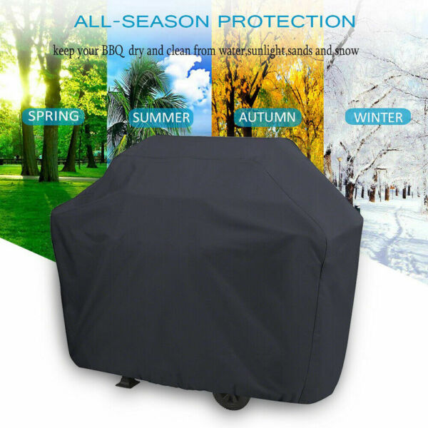 Heavy Duty BBQ Cover Waterproof Barbecue Grill Protector Outdoor Covers M L XL $12.99