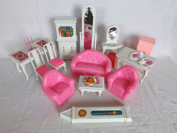 1:6 Scale VTG 90s Plastic Doll Furniture for 11.5quot; Dolls Generic Barbie Mattel $30.00