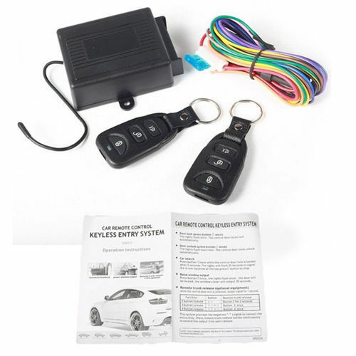 Car Keyless Remote Central Door Lock Control Controller Entry System Universal $11.03