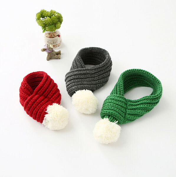 Christmas Cat Dog Puppy Costumes Winter Knit Scarf Leg Warmers O3 $7.39