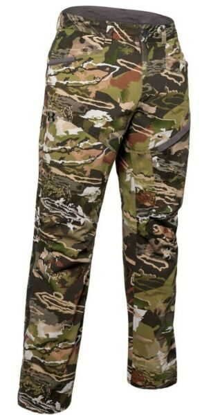 NEW Under Armour Storm Grit Mid Season Mens Hunting Camo Forest Pants US 36