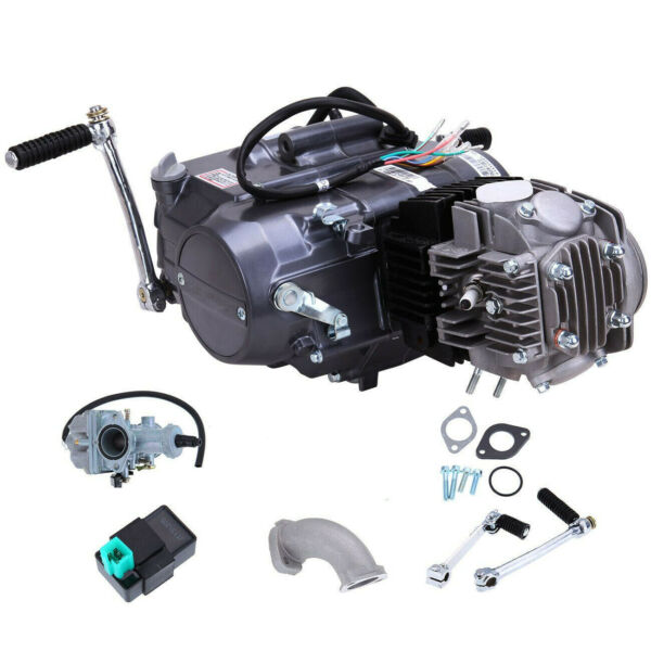 New Engine Motor 125cc 4 Stroke Motorcycle Dirt Pit Bike Fits For Honda CRF50 US $279.00