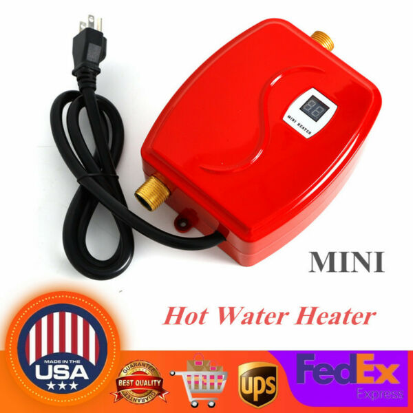 Instant Electric Water Heater Bath Kitchen Under Sink Faucet Hot Water System US $45.60
