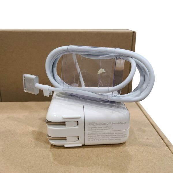 45W MagSafe 2 Power Adapter Charger For MacBook Air 11#x27;#x27;13quot;A1465 A1436 T Tip New