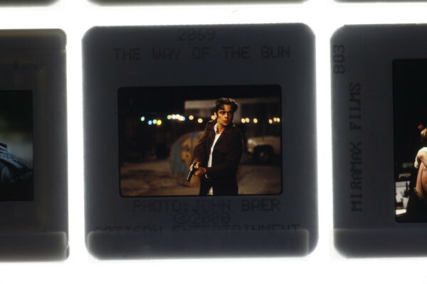 The Way of the Gun Benicio Del Toro 2000 Film Movie Promo Photo 35mm Slide