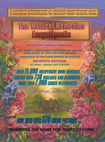 Natural Home Remedies Encyclopedia Book Healing 7th Edition Vance H. Ferrell $62.00
