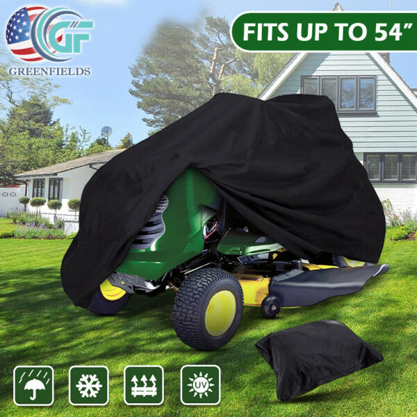 Waterproof Riding Lawn Mower Cover UV Protector for 54quot; Lawn Tractor Universal $23.99