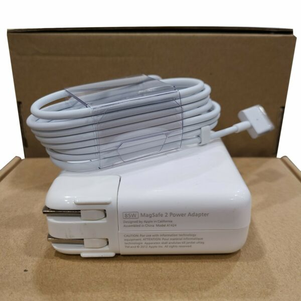 85W MagSafe 2 Power Adapter Charger For MacBook Pro 15quot; A1424 A1435 T Tip New