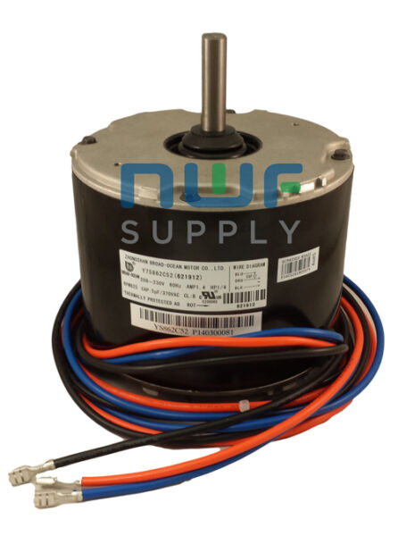 Nordyne Intertherm Emerson K55HXHSF 8846 Condenser Fan Motor 1 4 HP 825 RPM $135.00