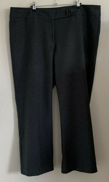 George at Asda Size 20 Ladies Smart Grey Trousers GBP 8.00