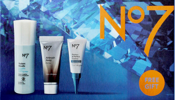 No 7 Stand Out Favorites Travel Primer Eye Cream And Cleansing Water BNIB