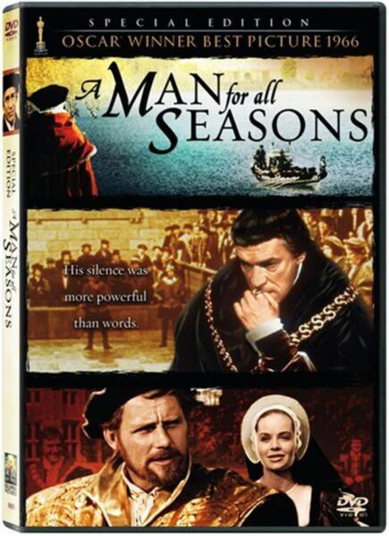 A Man for All Seasons DVD NEW
