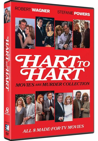 Hart to Hart Movies Are Murder Collection DVD NEW $14.96