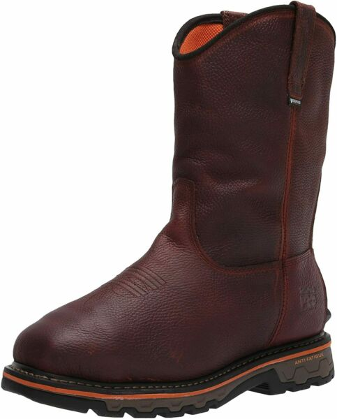 Timberland PRO Men#x27;s True Grit Pull on Composite Safety Toe Brown Size X7qc $102.63