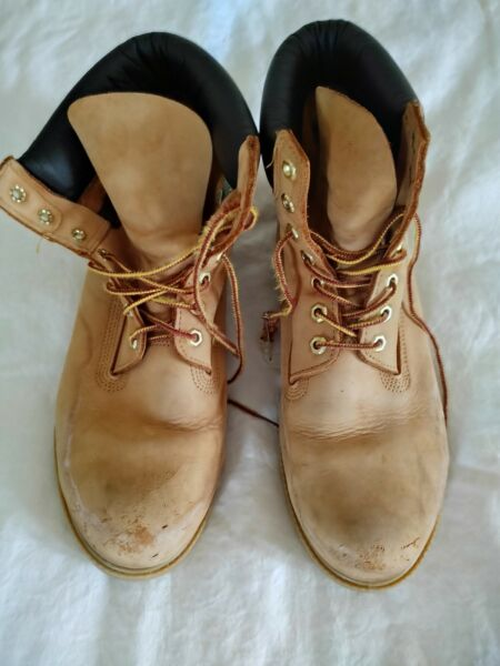Timberland boots men 11W $35.00