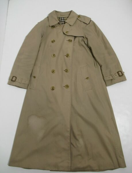 Burberry Women#x27;s Trench Coat Color Honey Size 40 US Size 6 $175.00