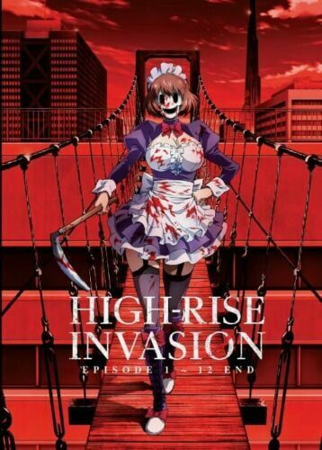 High Rise Invasion Anime DVD Eps.1 12 end with English Audio