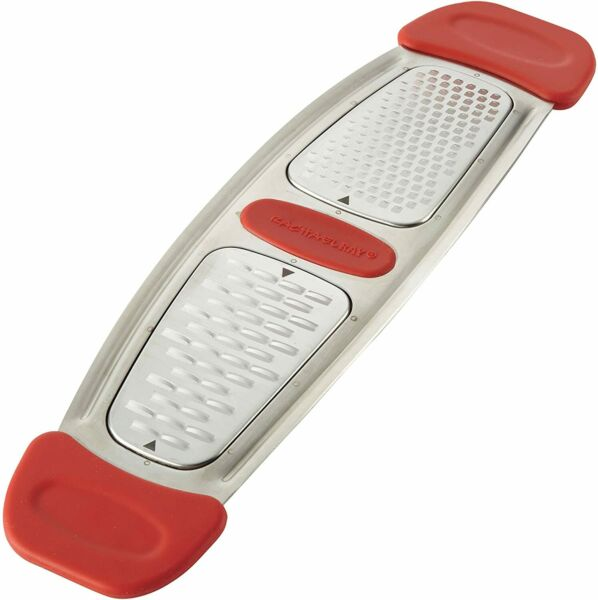 Rachael Ray Multi Stainless Steel Grater Red