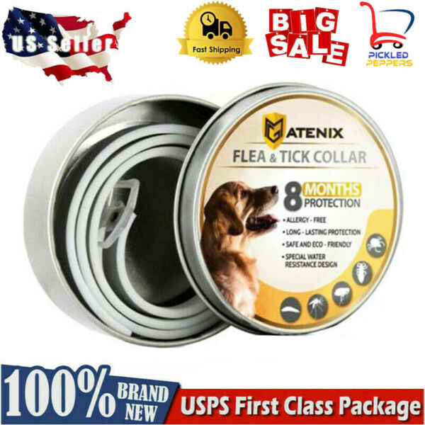 Dewel Cheaper than Seresto Flea Tick Control Collar for Small Large Dogs 8Month $9.99