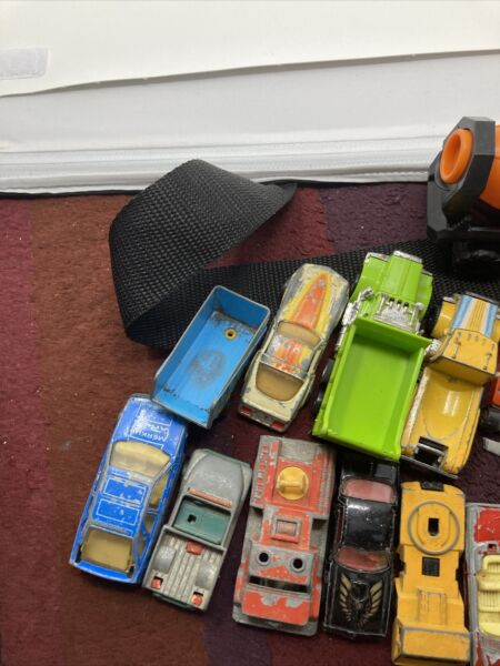 Lot Of 25 Vintage Metal Toy Cars Matchbox Hot Wheels amp; Others as is