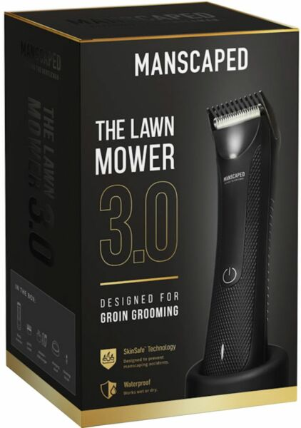 Manscaped The Lawn Mower 3.0 Cordless Rechargeable Electric Shaver $33.95