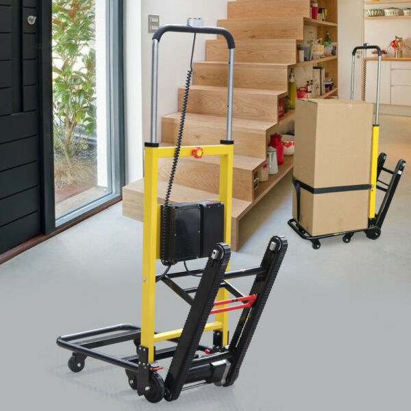 Electric Mobile Folding Stair Climbing Handcart Dolly Trolley 160KG Max Load 24V $1246.00