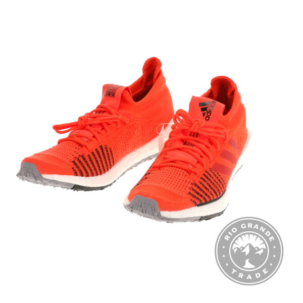 NEW adidas Men#x27;s Running PulseBOOST HD in Red Hi Res Red Core Black 11.5 D