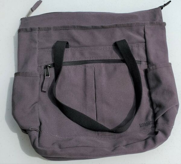 Duluth Trading Co Company Laptop Bag Canvas Messenger Gear Tote $29.95