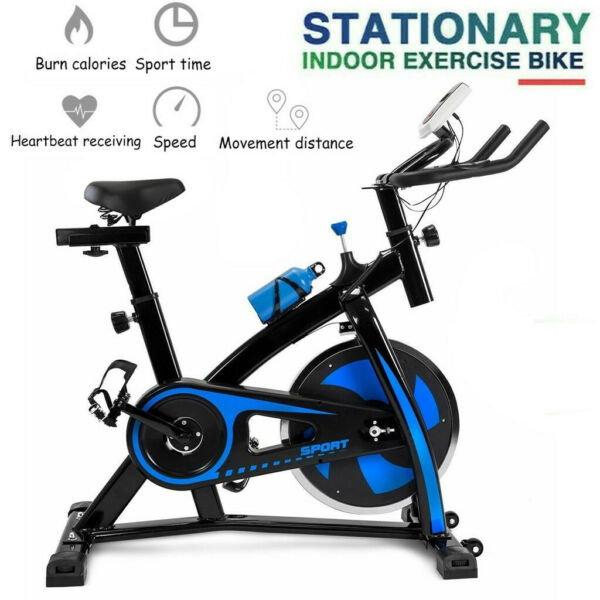 Stationary Exercise Bicycle Indoor Bike Cardio Health Cycling Home Fitness $198.99