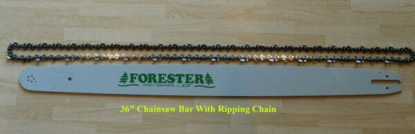 36quot; Chainsaw Bar And Ripping Chain Sprocket Nose 3 8 .050 115DL Fits Husqvarna $130.00