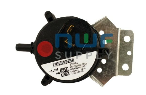 Nordyne Gibson Intertherm Furnace Pressure Switch 632444 632444R $18.00