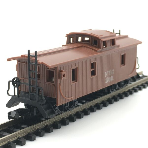 Arnold Rapido N Scale New York Central Wood Sheathed Cupola Caboose NYC 19401 $6.99