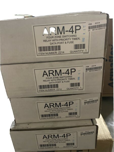 ARGO 4 zone Expandable Switching Relay ARM4P NEW Heater boiler Control. $100.00