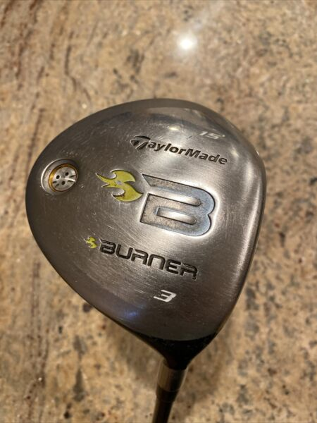 TaylorMade Burner 3 Wood 42in RH 15 Degree REAX 49 Graphite Shaft Ladies Flex